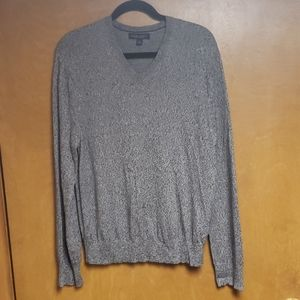 Banana Republic Cashmere Marble grey sweater
